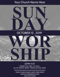 Sunday Worship Church Event Template