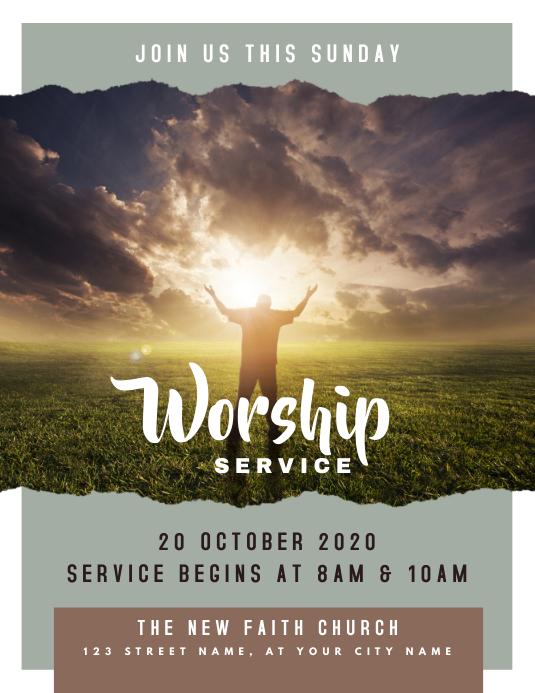 Sunday Worship Church Service
