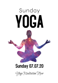 Sunday Yoga Meditation Spiritual mind soul ad