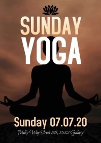 Sunday YOGA Spiritual Meditation Soul Body Event
