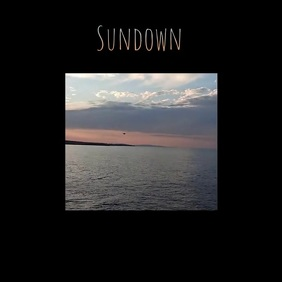 Sundown album cover art video