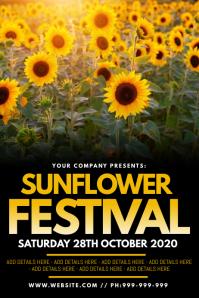Sunflower Festival Poster