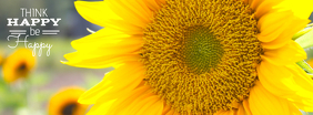 Sunflower Happiness template