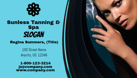 Sunless Tanning & Spa Business Card