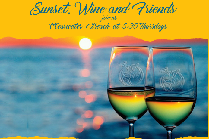 Sunset and Wine BANNER