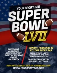 Super Bowl 2021 Flyer Template