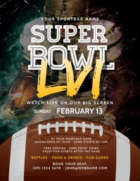 Super Bowl 2020 Flyer