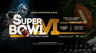 Super Bowl 2021 Twitter Post Twitter-Beitrag template