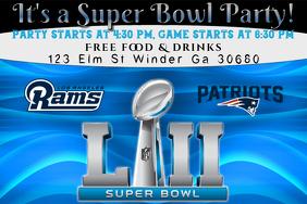 Super Bowl Flyer