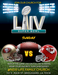SUPER BOWL LIV CHURCH SERVICE