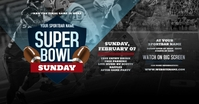 Super Bowl Sunday Facebook Shared Image template