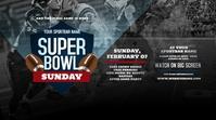 Super Bowl Sunday Twitter Post template