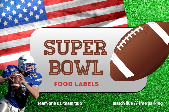 Super Bowl Templates Tatak