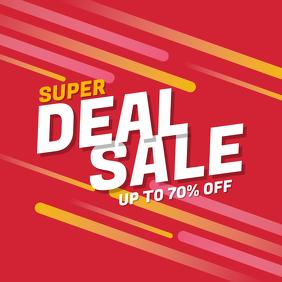 Super Deal Sale Discount Instagram Post