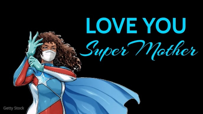 Super Power Mother's Day Video Template