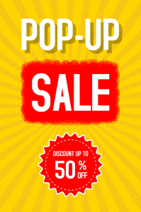 Super Sale Poster template