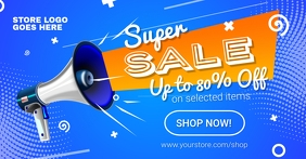 Super Sale Facebook Post template