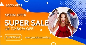 Super Sale Facebook Post Template