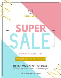 Super Sale Flyer