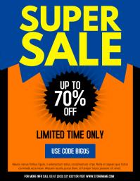 Super Sale Flyer