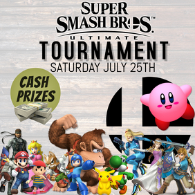 SUPER SMASH BROTHERS ULTIMATE MELE TOURNAMENT