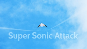 Super Sonic Kite Posters Facebook-omslagvideo (16:9) template