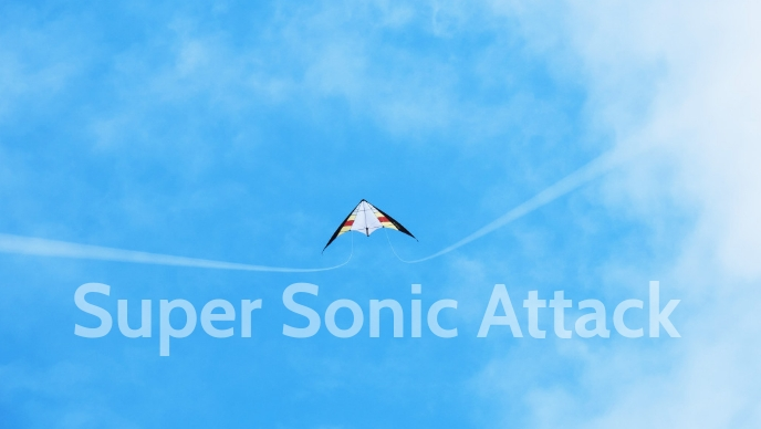 Super Sonic Kite Posters