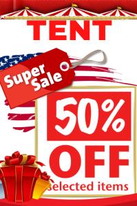 Super Tent Sale Template