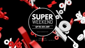 Super Weekend Discount Sale Promo Special ad