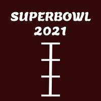 Superbowl Instagram Post template
