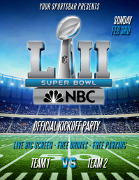 SUPERBOWL LIII FLYER