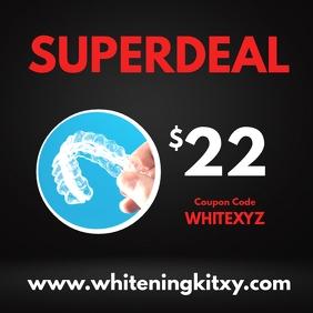 Superdeal Online Shopping Whitening kit theet
