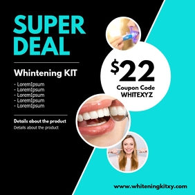 Superdeal Online Shopping Whitening kit theet