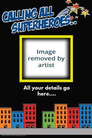 Customizable Design Templates for Superhero | PosterMyWall