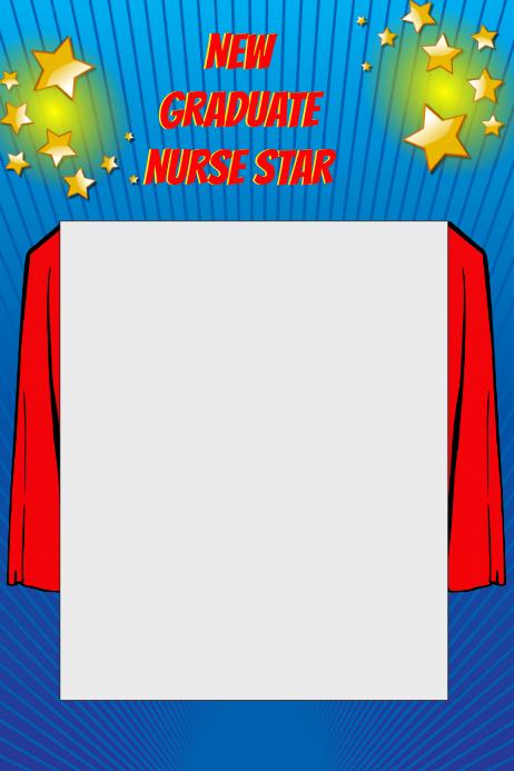 Superhero Party Prop Frame