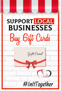 Support Local Business Poster template