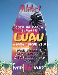 Surf's Up Luau!