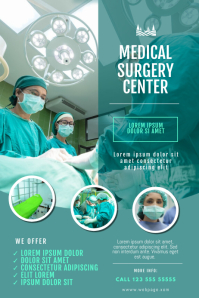 Surgery Hospital Doctor Flyer Template