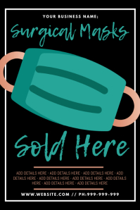 Surgical Masks Sold Here Poster
