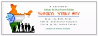 Surgical Strike Day Facebook Cover Photo template