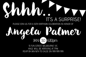 Surprise Party Invitation