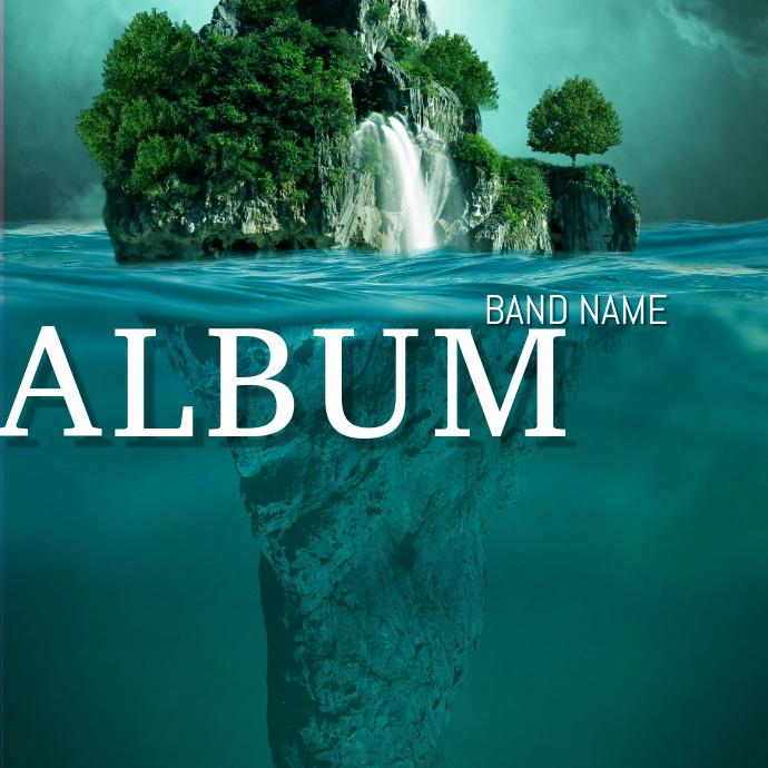 Surreal Album cover Template