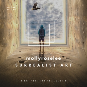 Surrealist Surreal CD Cover Art Template