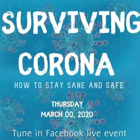 Surviving corona coronavirus covid19 fb live