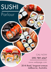 SUSHI DELIVERY TEMPLATE