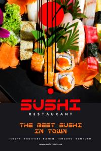Sushi Food Poster