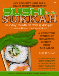 Sushi in the Sukkah