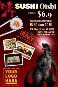 Sushi Poster