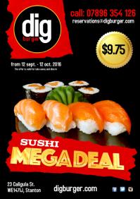 Sushi restaurant deal Poster
