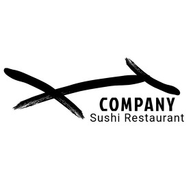 Sushi restaurant logo 徽标 template